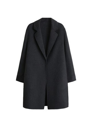 Violeta BY MANGO Wool overcoat