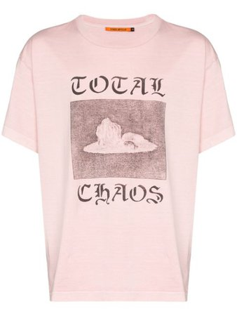 Vyner Articles Total Chaos Print Cotton T-shirt - Farfetch