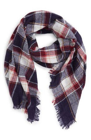 Madewell 'Range' Plaid Wool Scarf | Nordstrom