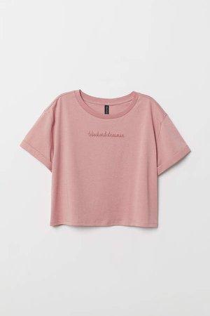 Short T-shirt - Pink