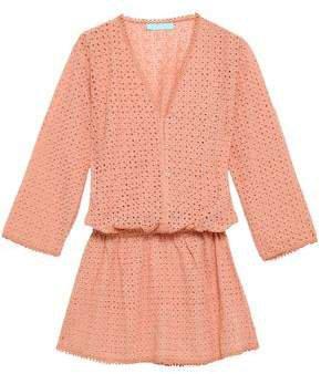 Kylie Broderie Anglaise Woven Mini Dress