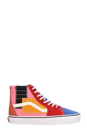 Vans Multicolored Suede Sk8-hi Sneakers
