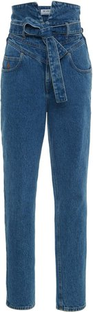 Attico High-Rise Skinny Jeans Size: 38