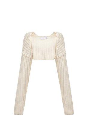 Sweater Sleeve - Beige – Simonett