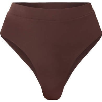 Myra - Mase Bikini Briefs - Dark brown