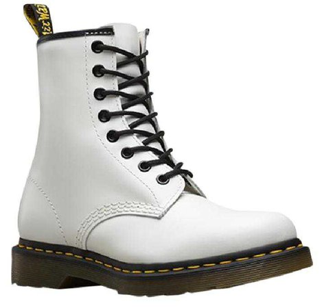 1460 smooth doc martens womens white
