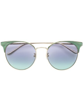 Gucci Eyewear Oversized Cat Eye Sunglasses - Farfetch