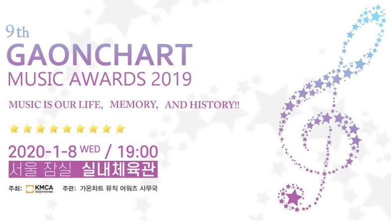 '9th Gaon Chart Music Awards' reveals 1st round of official nominees! | allkpop