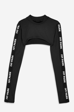 Logo Sleeve Super Crop Top by Ivy Park