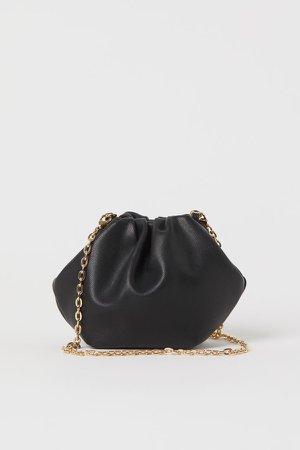 Mini Shoulder Bag - Black