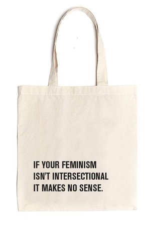 intersectional feminism tote