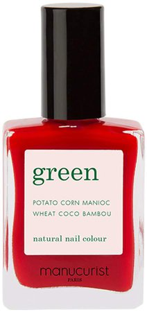 Green Nail Lacquer - Anemone