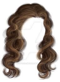 hair transparent background