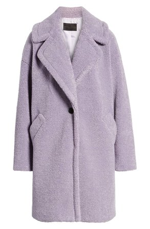 KENDALL + KYLIE Faux Fur Teddy Coat   Nordstrom
