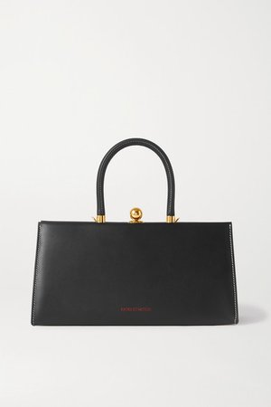 Sister Leather Tote - Black