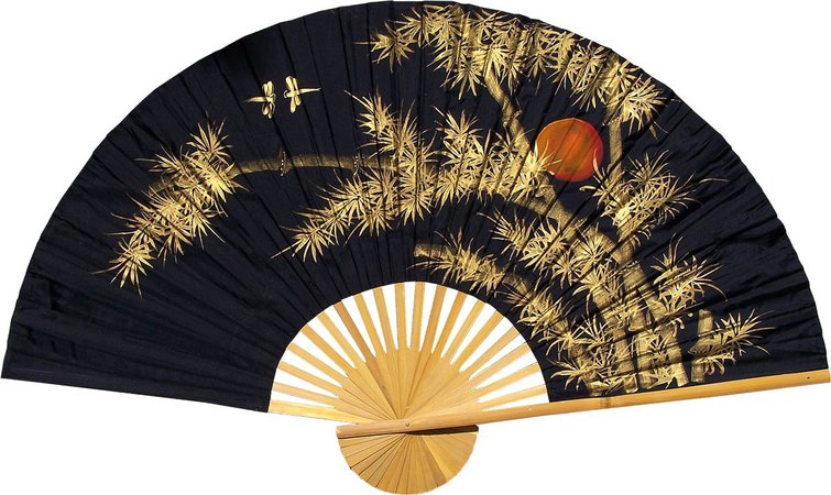 Chinese Wall Fans : Bamboo Moon - China Underground