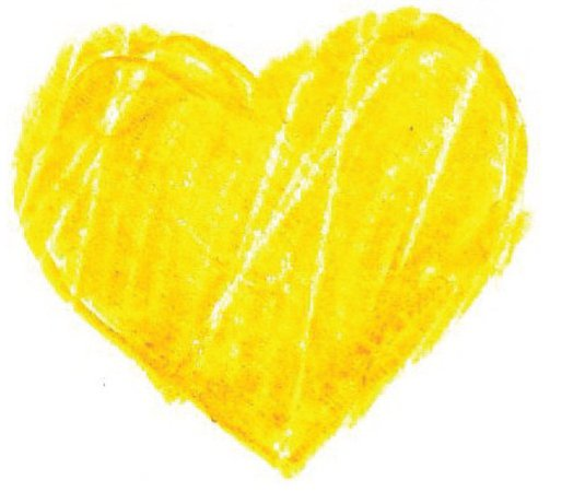 Yellow Heart – Daily Inspiration Quotes