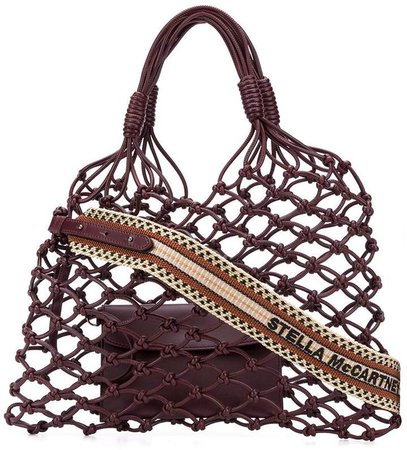 knotted structure tote