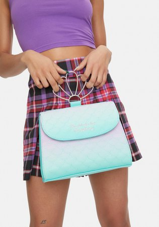 Loungefly The Little Mermaid Ombre Crossbody Bag | Dolls Kill