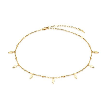 Gold Leaf Choker | 18ct Gold Vermeil | Missoma | Missoma Limited
