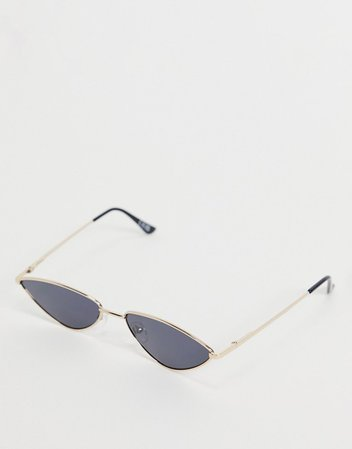 ASOS DESIGN metal cat eye sunglasses | ASOS
