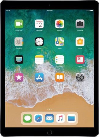 Apple 12.9-Inch iPad Pro (Latest Model) with Wi-Fi - 256GB Gray MP6G2LL/A - Best Buy