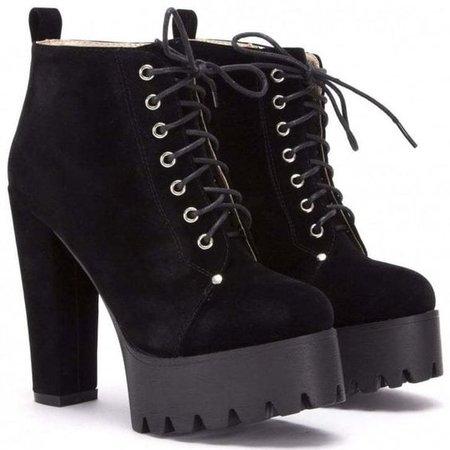 Koi Couture 1499-2 Black Suede