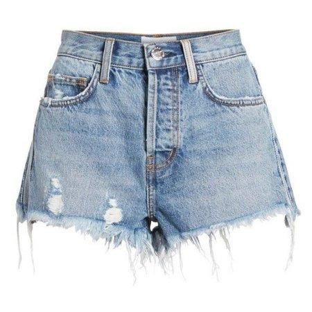 Current/elliott The Ultra High Waist Cutoff Denim Shorts