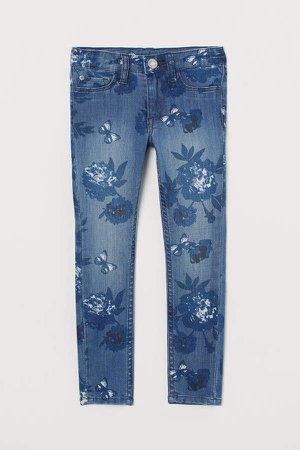 Skinny Fit Jeans - Blue