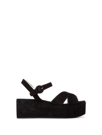 Prada Prada Platform Sandals