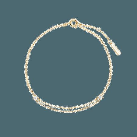 PDPAOLA, Nia gold bracelet