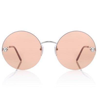 Panthère de Cartier round sunglasses