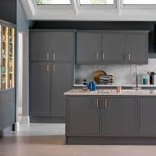 white kitchen cabinets with copper handles - Google Search