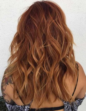 red hair with highlights - Buscar con Google