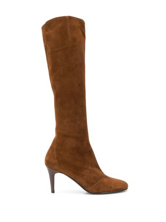 Michel Vivien EDGE Suede Boots EDGE Brown | Farfetch