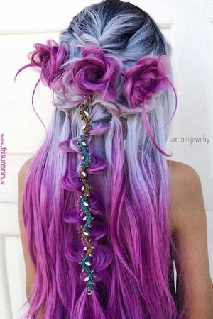 Fairy Hair (lilac and magenta)