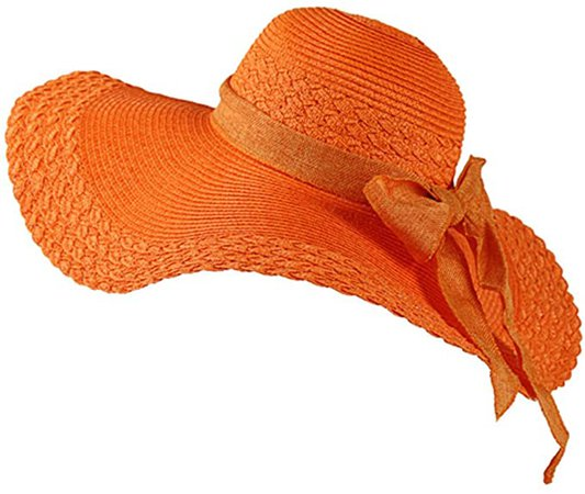 Pamela para Mujer, Grande Sombrero de la Playa/Sombrero de Paja/Sombrero de Verano Sombrero de Sol One Size Rose: Amazon.es: Deportes y aire libre