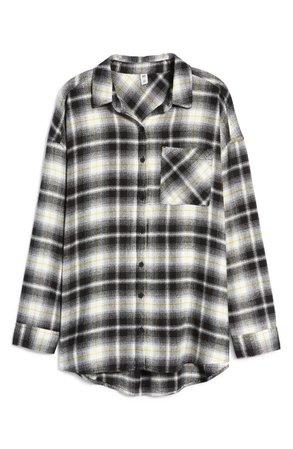 Boyfriend Plaid Button-Up Shirt | Nordstrom