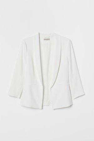 Saco de corte recto - Blanco natural - Ladies | H&M MX
