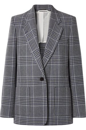 Acne Studios | Jana checked cotton-blend blazer | NET-A-PORTER.COM