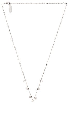 Melanie Auld Floating Disc Necklace in Silver | REVOLVE