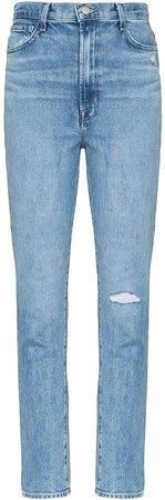 Runway 1212 distressed skinny jeans