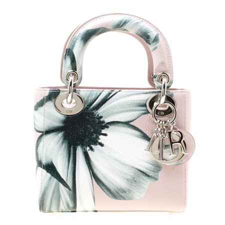 Dior, Lady dior flower print bag