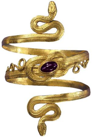 Gold Snake Arm-Band