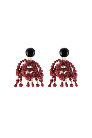 Beaded Earrings Gr. One Size