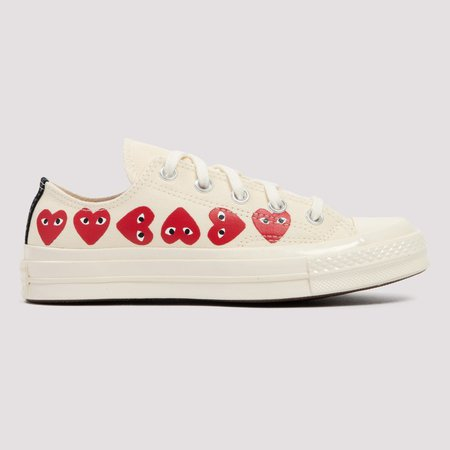 X Converse Chuck Taylor Multi Heart Sneakers