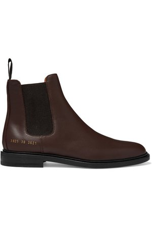 Common Projects | Leather Chelsea boots | NET-A-PORTER.COM