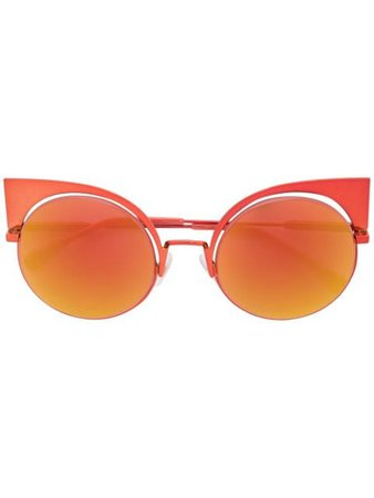 Fendi Eyewear Eyeshine Sunglasses - Farfetch