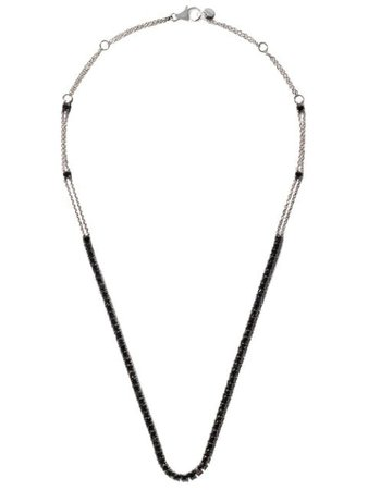 Alinka 18kt White Gold RIVIERA Diamond Necklace - Farfetch