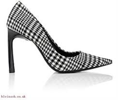 black and white houndstooth ladies shoes - Google Search